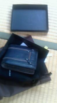 かみさんがくれた財布.JPG